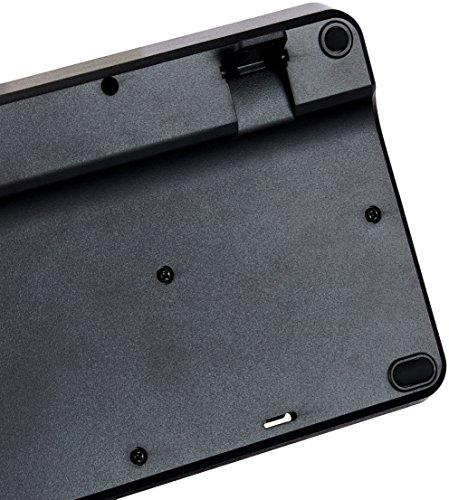 AmazonBasics Wireless Keyboard - Quiet and Compact - US Layout (QWERTY)