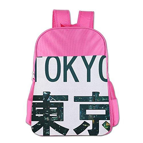 [해외]Tokyo City Beautiful School Backpack Children Shoulder Daypack Kid Lunch Tote Bags RoyalBlue / Tokyo City Beautiful School Backpack Children Shoulder Daypack Kid Lunch Tote Bags Pink
