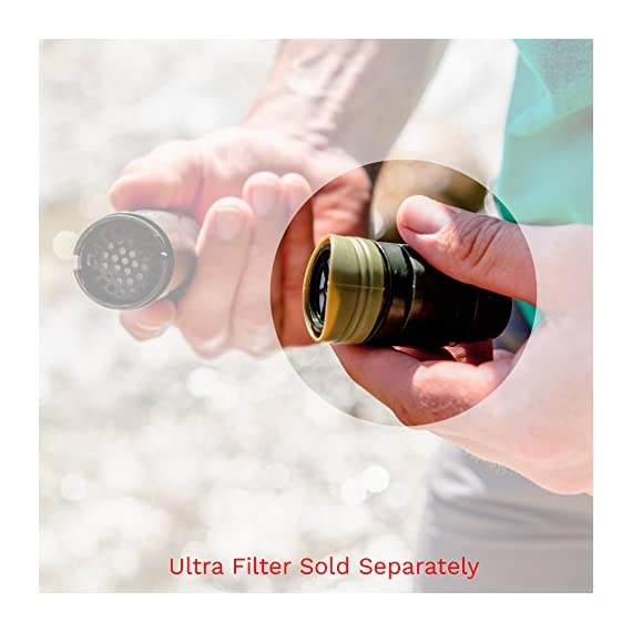 Survivor Filter Replacement Mouthpiece with Integrated Carbon Filter. Fits Survivor Filter Triple Filtration Water Filter Straw 3 OFFICIAL Replacement Carbon Filter for Survivor Filter Model L600 Triple Filtration Water Filter Straw. USE FOR UP TO 1000Liters INTEGRATED mouthpiece with filter tip included.