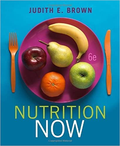 Book Nutrition Now (with Interactive Learning Guide) by Judith E. Brown (2010-01-01)