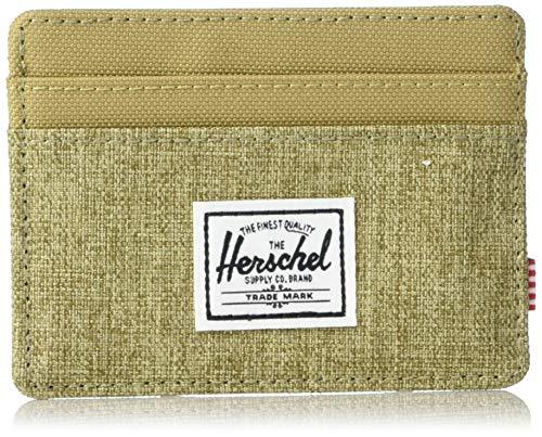 Herschel Supply Co. Men's Charlie RFID, Crosshatch/kelp, One Size