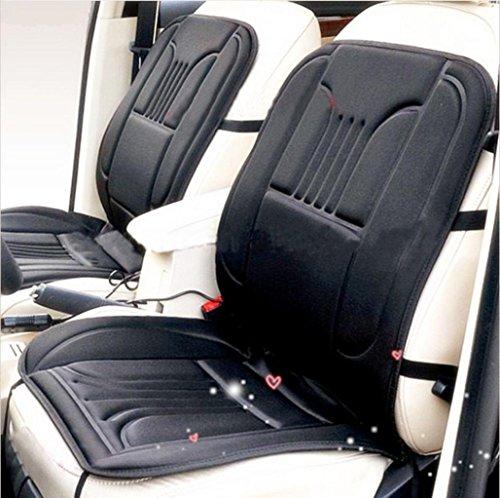 Auto Chair Pads,Elevin(TM)Black Car Heated Seat Cushion C...