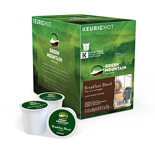 Large Product Image of Green Mountain Coffee Roasters Breakfast Blend Keurig Single-Serve K-Cup Pods, Light Roast Coffee, 24 Count