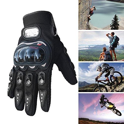 vanpower Fibre de carbone Pro-Biker V/élo Moto Racing Gants L