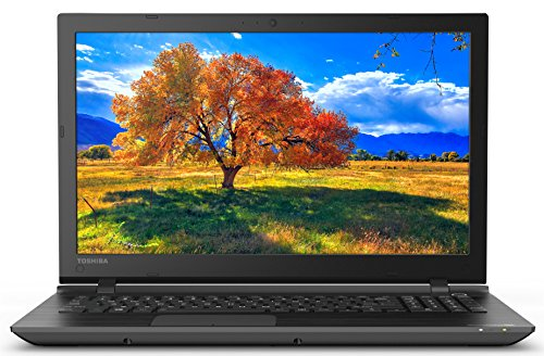 Toshiba Satellite C55-C5240 15.6 Inch Laptop (Intel Core i5 8GB 1 TB Black)