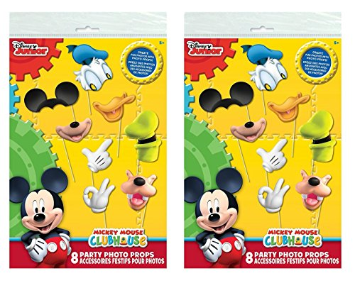 Mickey Mouse Clubhouse Photo Booth Props 16pc Buy Online In Ksa