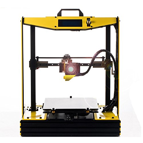 3D Printer Kit,DIY High Accuracy Upgraded Prusa I4 FDM Printer,Includes Micro SD Card and 2 Rolls of Filaments