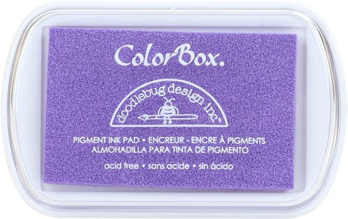 Pigment Ink Pad Spring - CLEARSNAP Doodlebug Fullsize Pigment Ink Pad-Lilac