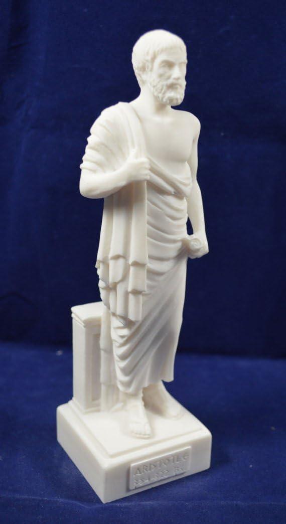 Estia Creations Aristotle Sculpture Ancient Greek Philosopher Statue