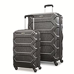 "Samsonite Magnitude Lx 2 Piece Nested Hardside Set (20""/28""), Black, Only at Amazon"