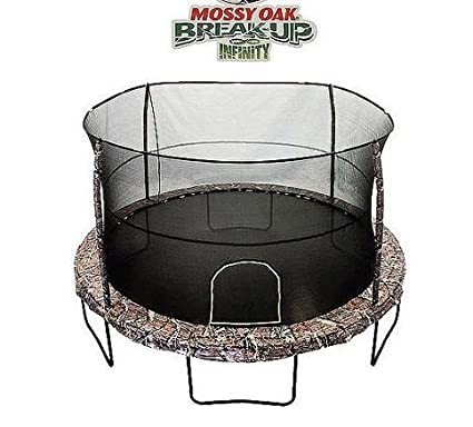 Amazon.com: Jumpking 14 foot Deluxe Mossy Oak trampolín ...