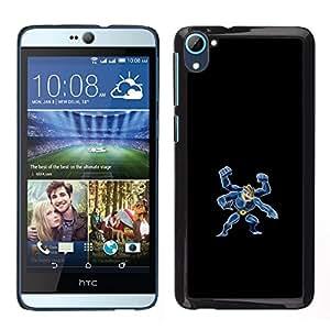 Stuss Case / Funda Carcasa protectora - Machamp P0kemon - HTC Desire D826