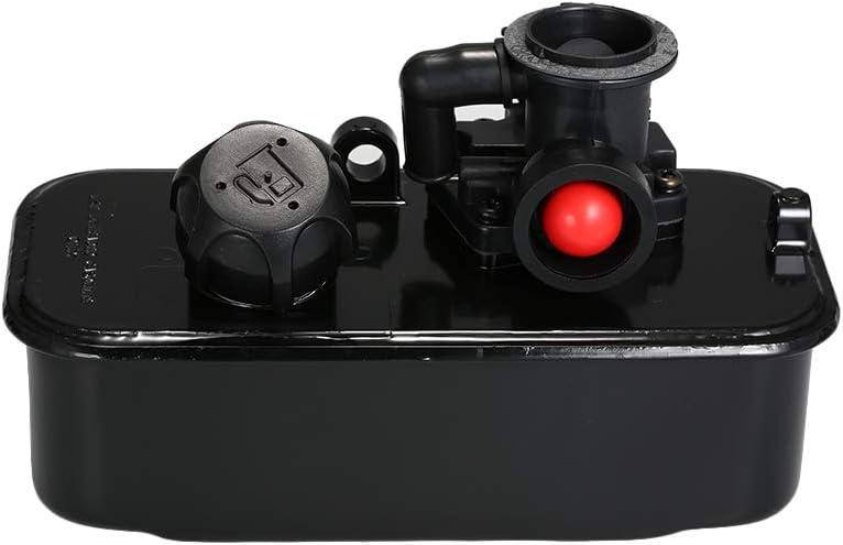 VISLONE Ensamblaje de carburador del cortacésped del Tanque de Gas Combustible Aptos para Briggs & Stratton 499809 498809A 494406