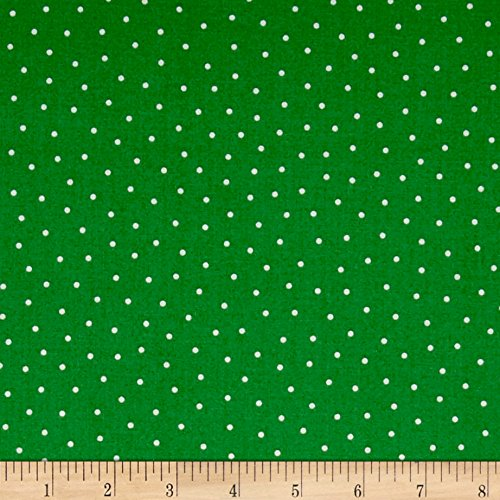 Patchwork Farms Dots Green Fabric By The Yard
