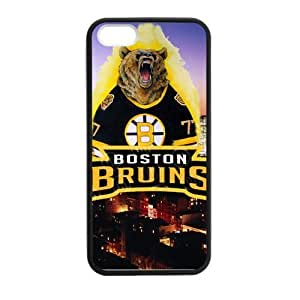 Roaring Bear Not Lose Boston Bruins Iphone 5s Case Shell Cover (Laser Technology)