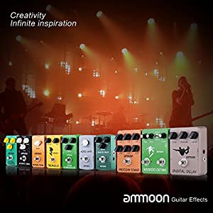 ammoon AP-13 American Sound Amp Simulator Chitarra Pedale Effetto True Bypass