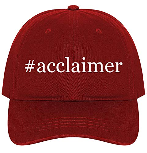 #Acclaimer - A Nice Comfortable Adjustable Hashtag Dad Hat Cap, Red, One ()