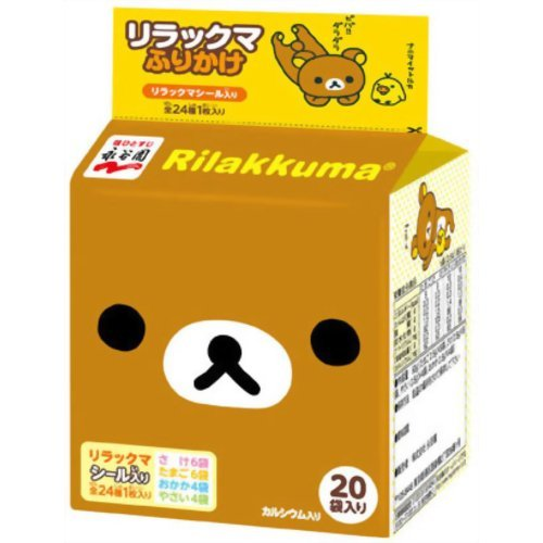 Nagatanien-Rilakkuma-FURIKAKE-Rice-Seasoning-50g-20-Pcs-Japanese-Import