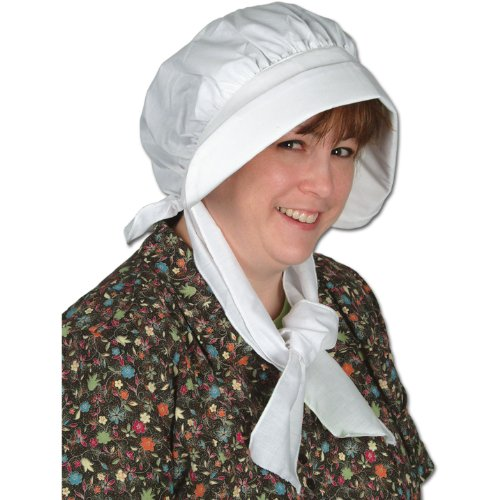 Pilgrim Bonnet Party Accessory (1 count) (1/Pkg) -
