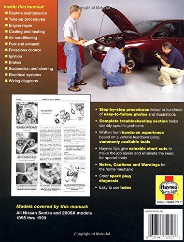 nissan sentra 1995 manual pdf