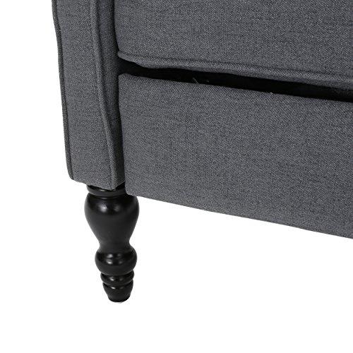 GDF Elizabeth Charcoal Chair