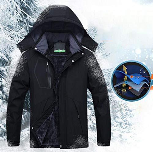 Trekking Caldo Alpinismo Uomo In Dimensioni Più Sci Invernale Xl Cappotto Pfsyr colore Da Giacca Blu Spesso Velluto Montagna Red wnFRfqBP4g