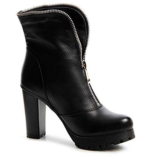 topschuhe24 - Botas para mujer Negro - negro