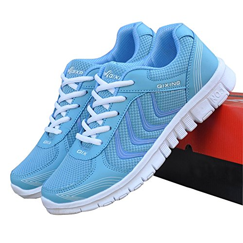 Women's Lightweight Athletic Walking Sneakers Breathable Tennis Road Running Shoes US4.5-10.5