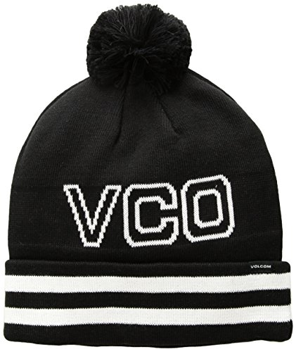 Volcom Men's VCO Beanie, Black, O/S