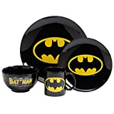 Dc Comics Batman Dinner Set 4 Piece