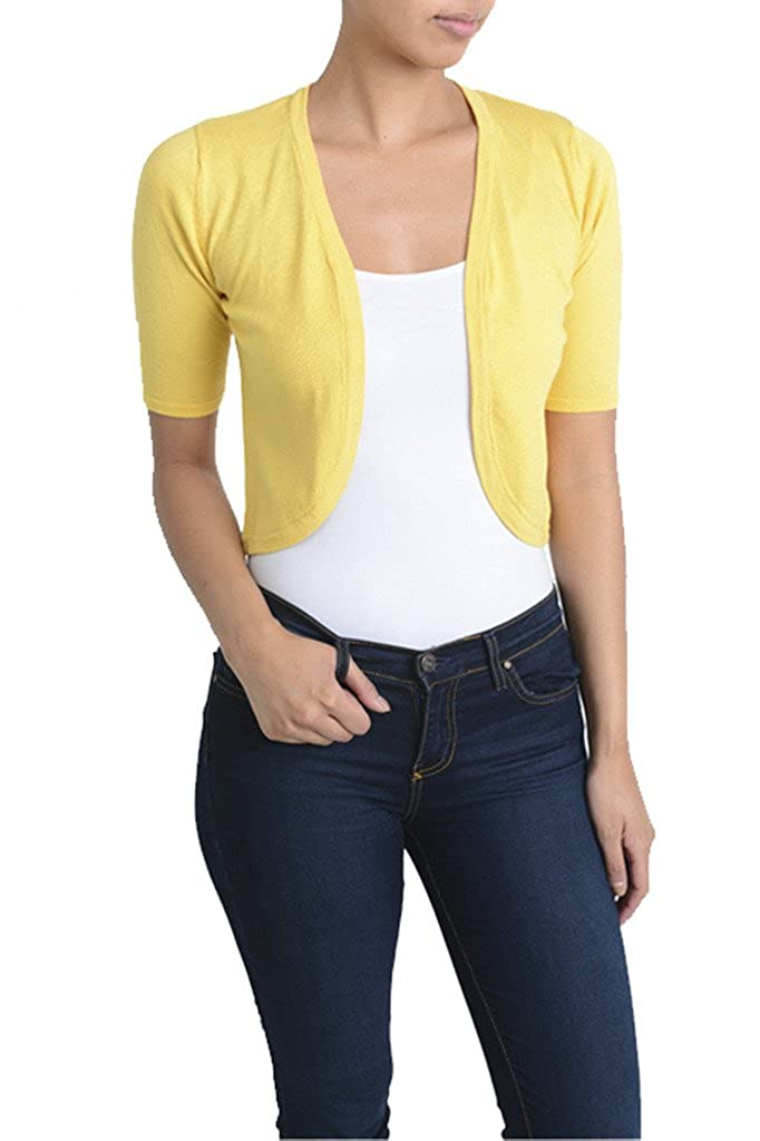 Retro Vintage Sweaters MAK Sleeve Bolero Cardigan $28.00 AT vintagedancer.com