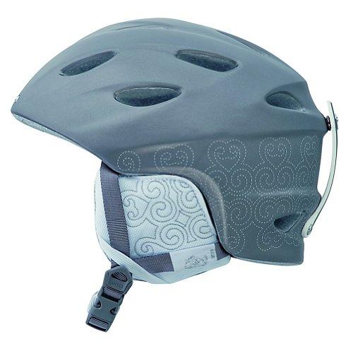 Giro Ember Snow Helmet, Matte Titanium Ornate, Small, Outdoor Stuffs