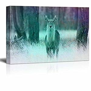 wall26 - Canvas Wall Art - Abstract Wild Animal Series