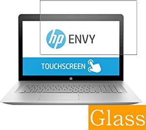 """Synvy Tempered Glass Screen Protector for HP Envy 17-u100 / u177cl / u175nr / u163cl / u110nr / u108ca 17.3"""" Visible Area Protective Screen Film Protectors 9H Anti-Scratch Bubble Free"""