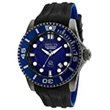Invicta Men's ' Pro Diver Automatic Stainless Steel and Silicone Diving Watch, Color:Black (Model: 20204