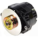 alternator gm - JEGS 10120 Black 1-Wire GM Alternator