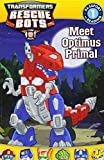 img - for Transformers: Rescue Bots: Meet Optimus Primal (Passport to Reading Level 1) book / textbook / text book