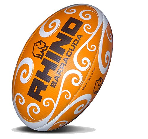 RHINO RUGBY Barracuda Beach Ball (Orange)
