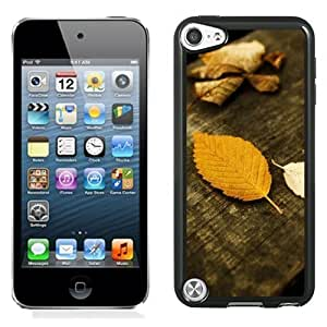New Personalized Custom Designed For iPod Touch 5th Phone Case For Autumn Yellow Leaves Phone Case Cover hjbrhga1544