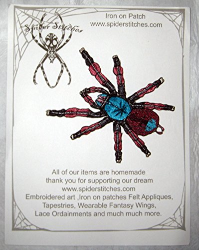 Martinique Pink Toe Tree Spider Tarantula Avicularia Versicolor Spider Iron on (Homemade Insect Costumes)