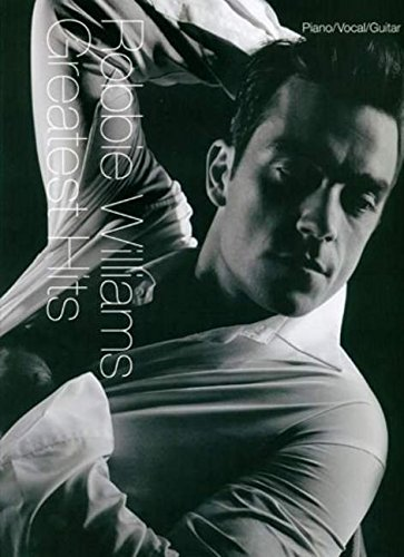 Robbie Williams Cool Mens Hat and Pocketless Sweater White XL