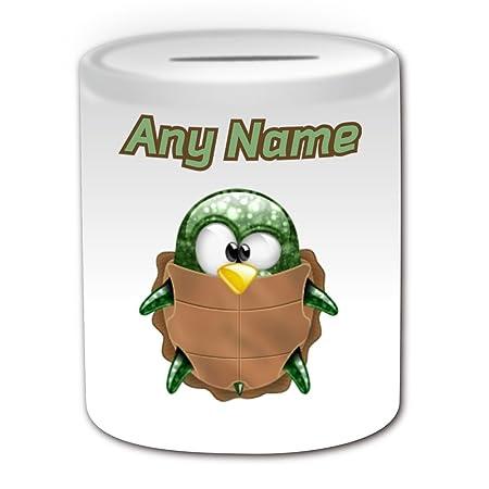 Personalizado regalo - Tortuga caja de dinero (pingüino ...