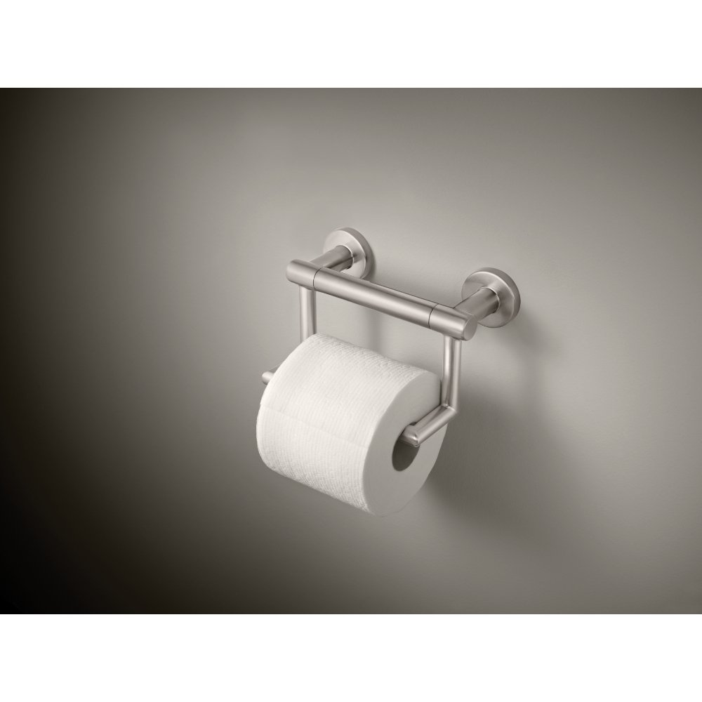 Delta Faucet 41550-SS Contemporary Tissue Holder/Assist Bar, Stainless by DELTA FAUCET (Image #3)