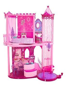 amazoncom barbie fashion fairytale palace toys games