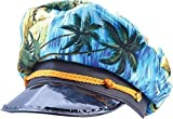 Blue Adults Hawaiian Captain Hat
