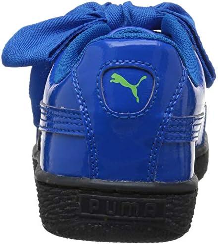 Boy's Basket Heart Iced Glitz Block Inf Ankle-High Walking Shoe
