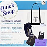 quick snap embroidery hoops - Janome MB-4 Quick Snap Hoop Set