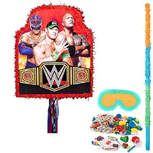 BirthdayExpress WWE Party Supplies Pinata Kit by BirthdayExpress