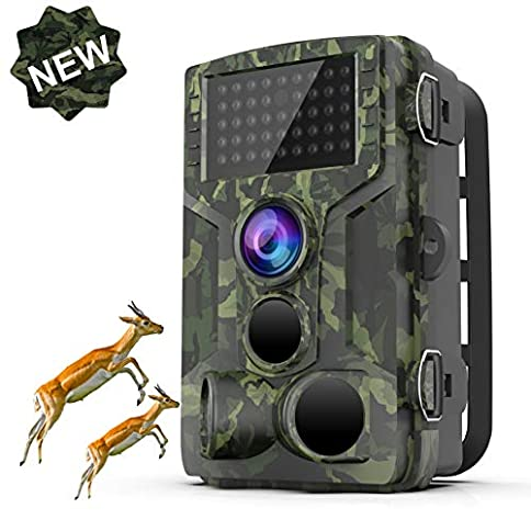 - 51 2BpT93M6OL - STARLIKE Trail Camera 1080P Waterproof Hunting Scouting Cam for Wildlife Monitoring with Motion Activated Night Vision up to 65ft/20m, 120°Detect Range, 36pcs 940 Infared LEDs, 0.3s Trigger Speed
