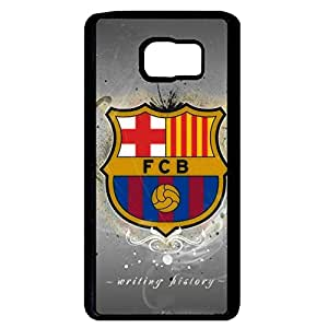 Custom Style FCB Football Club Barcelona Funda for Samsung Galaxy Note 5 Black Hard Case